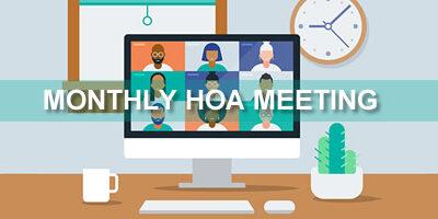 February HOA Meeting