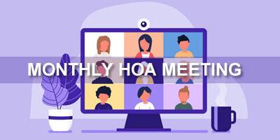 January HOA Meeting