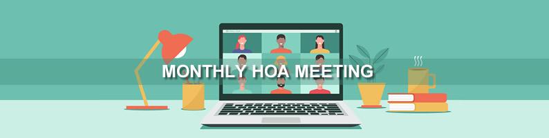 May HOA Meeting