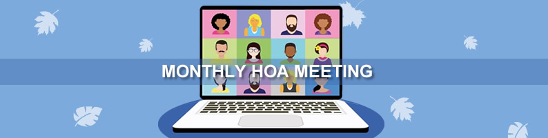 October HOA Meeting