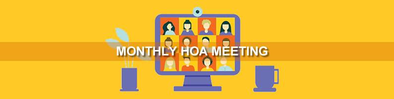 September HOA Meeting
