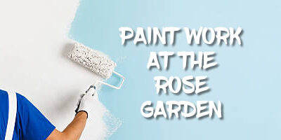 Paint Work at The Rose Garden