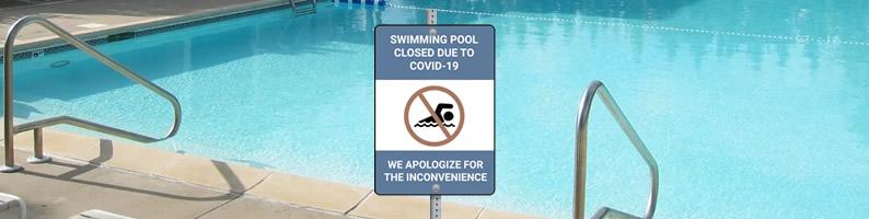 Pool Areas Closed
