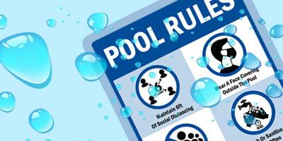 Pool Rules Reminder
